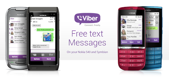 Viber comes to Nokia S40, Symbian and Bada Platforms