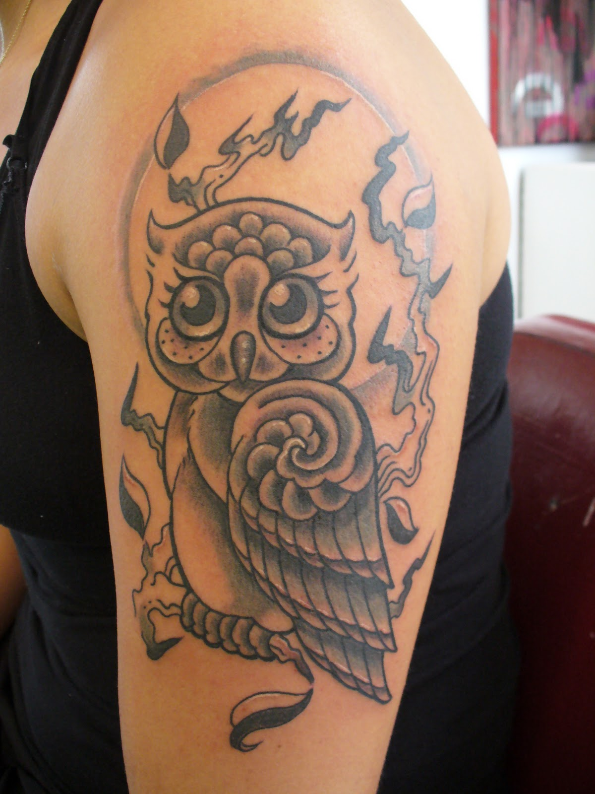 Orekiul Tattooo: owl tattoos collection