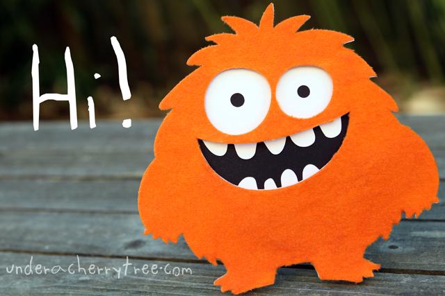 http://abunchofcherries.blogspot.com/2014/06/friendly-fuzzy-monster.html