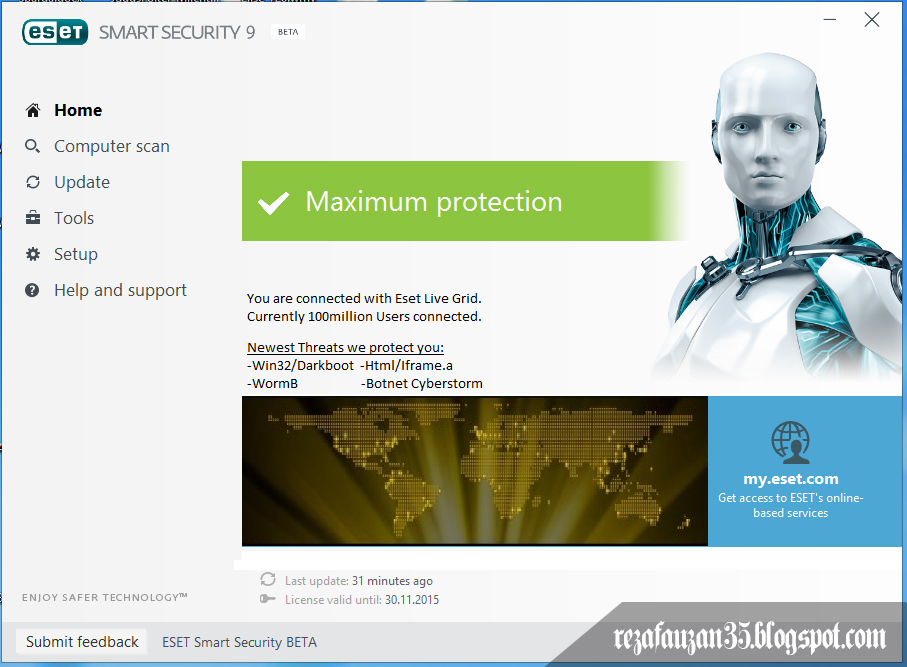 ESET Smart Security 9 Beta Full Version ~ Download