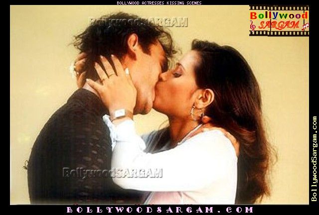 Kissing Images Of Bollywood Actress