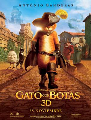 gatoposst El gato con botas (2011) Español