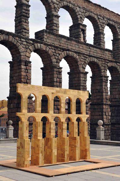 Apuntes revista digital de arquitectura propuestas con madera en segovia - Acueducto de segovia arquitectura ...