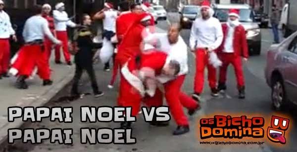 Papai Noel vs Papai Noel