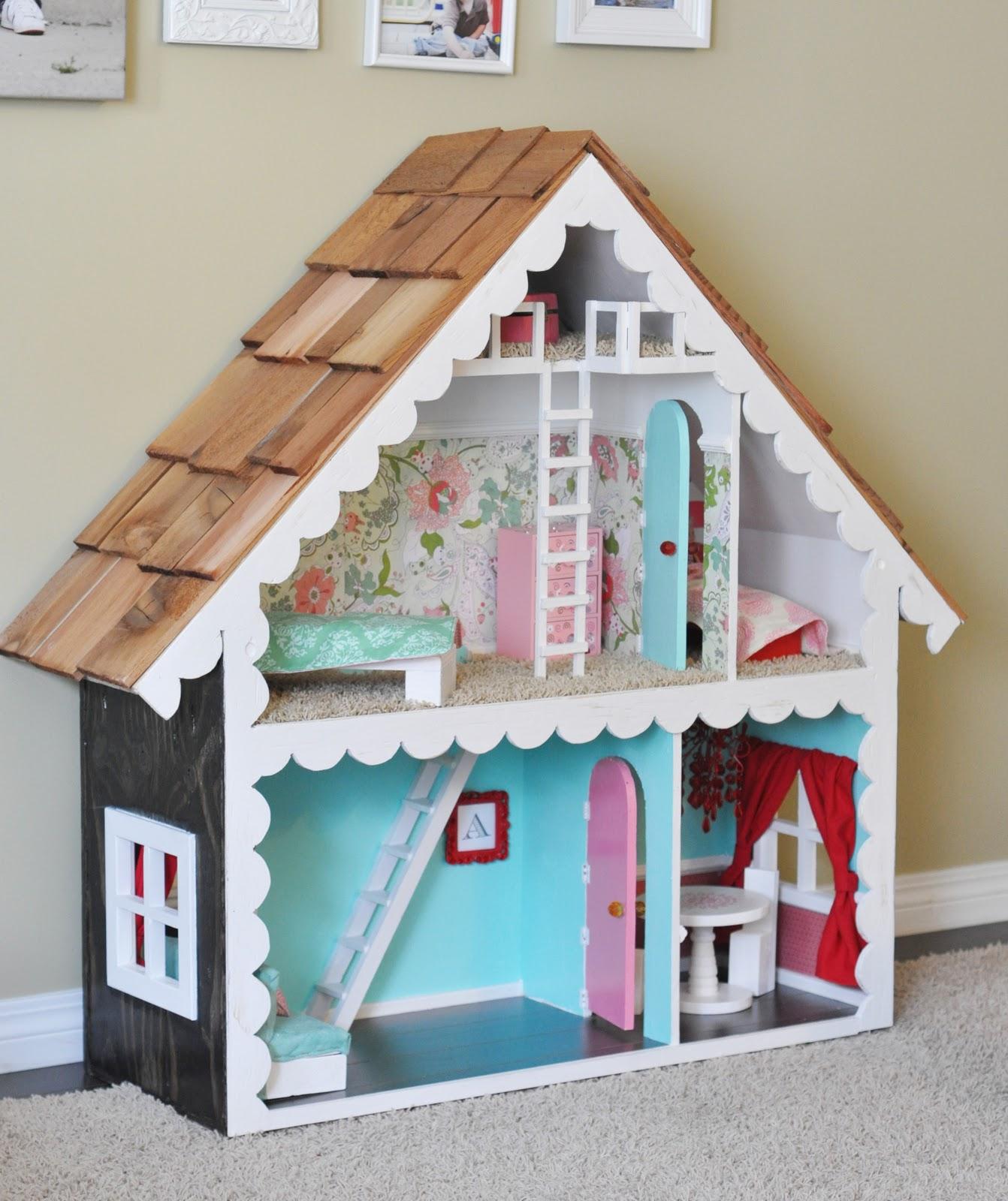Кукольный домик своими руками - 66 фото создания игрушечного 55