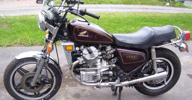 Honda CX500 C Motorcycle 1979-1981 and CX500 D 1979 ...