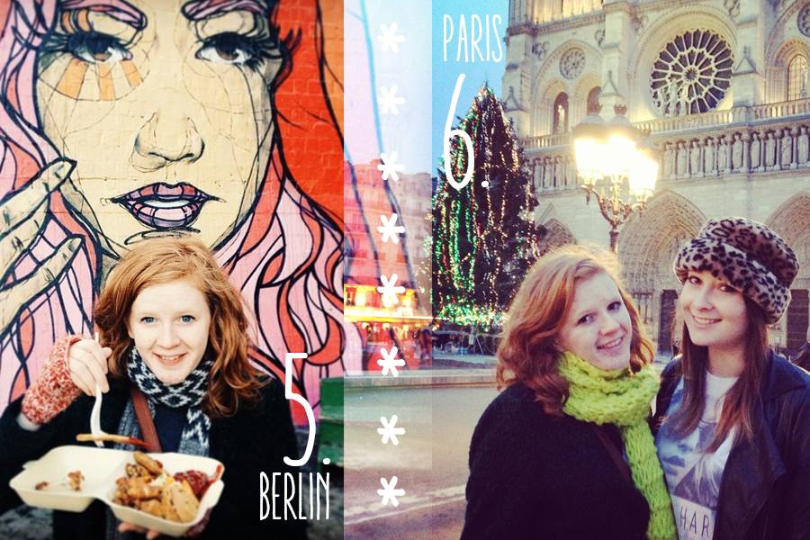 Places I Visited in 2014: Berlin and Paris