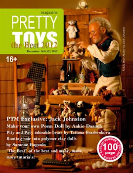 You can Find my Toy Wagon Tutorial in the December 2012 Issue of 'Pretty Toys' Magazine!