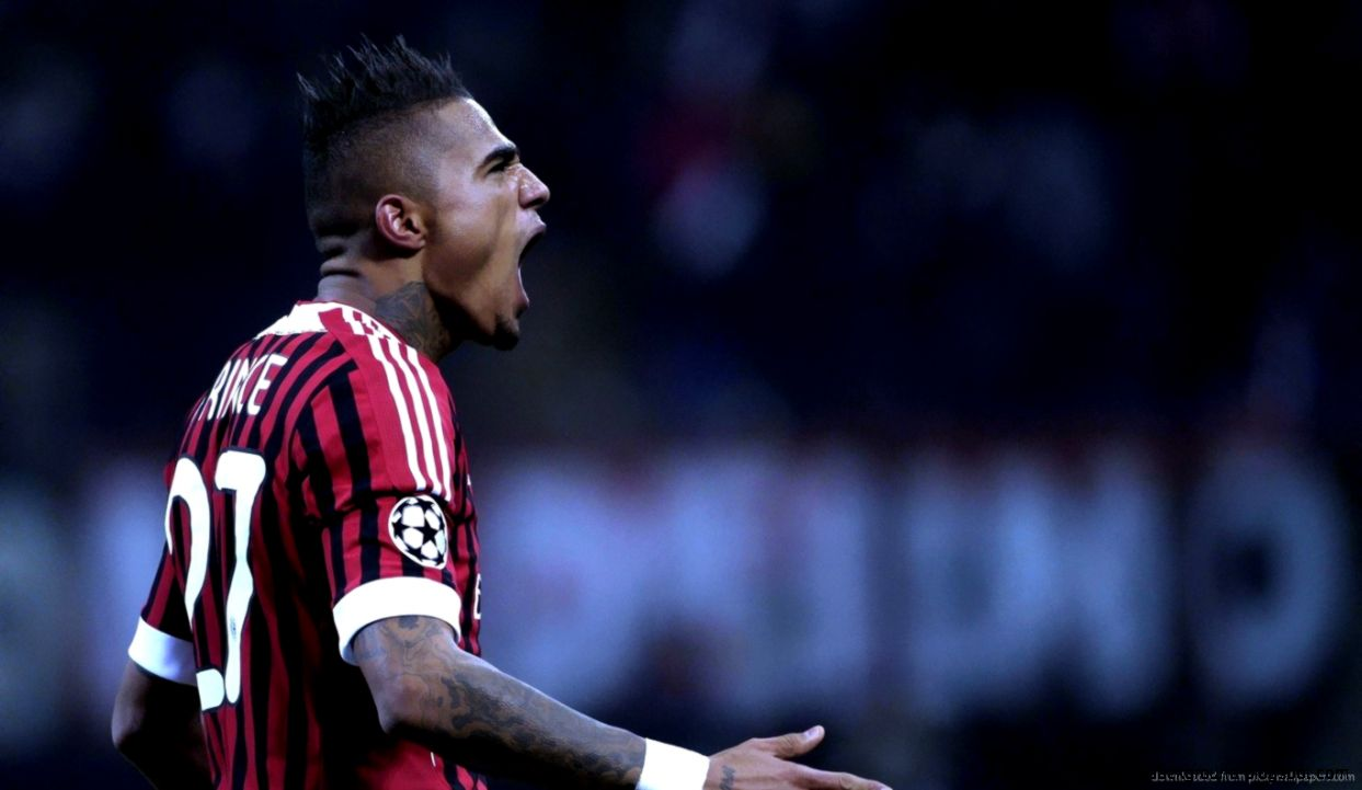 Download 1366x768 Kevin Prince Boateng Wallpaper