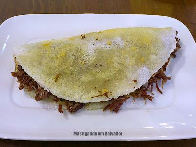 Tapioca's House: Beijú de Carne Seca com Catupiry