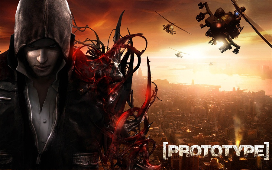 Free Download Prototype 1 PC Game Full Version Poster
