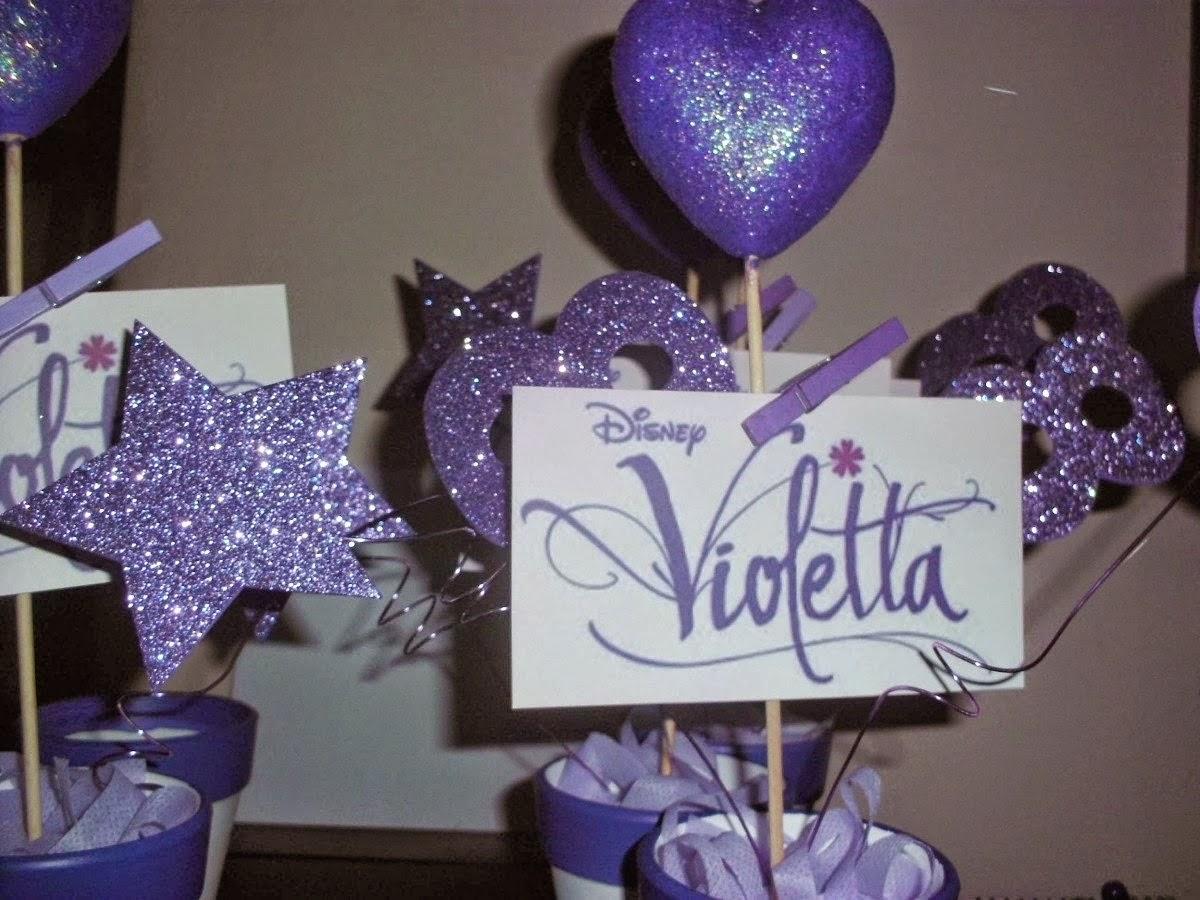 """decoracao festa violeta:RIBARTES: Dicas para decorar festa aniversário tema """"VIOLETTA"""""""