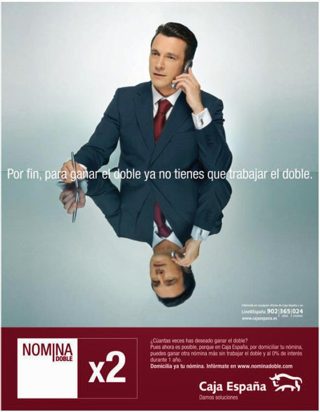 Anuncio incorrecto de Caja España
