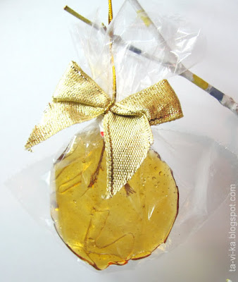 Леденцы - украшения на елку Christmas-lollipop