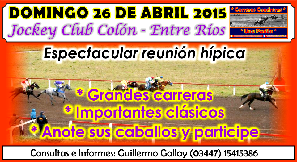 COLON - REUNION 26.04.2015