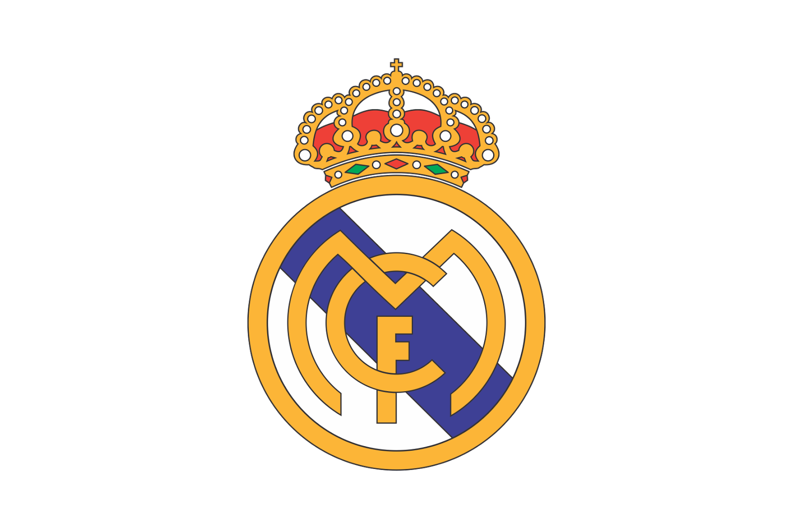 Real madrid cf logo logo share real madrid cf logo voltagebd Images