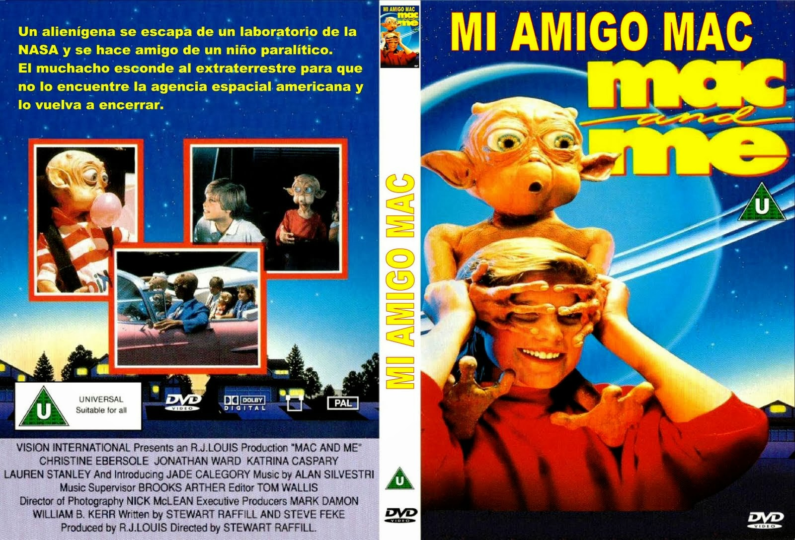 Mi amigo Mac ( 1988 ) Español DescargaCineClasico.Net