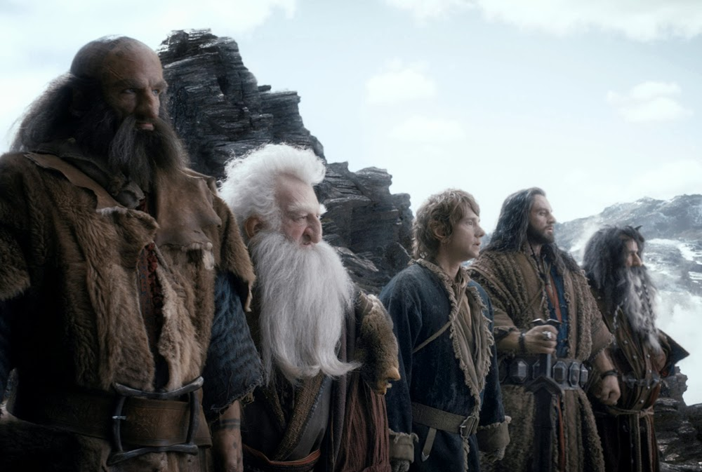 Martin Freeman, Ken Stott, Richard Armitage in The Hobbit: The Desolation of Smaug
