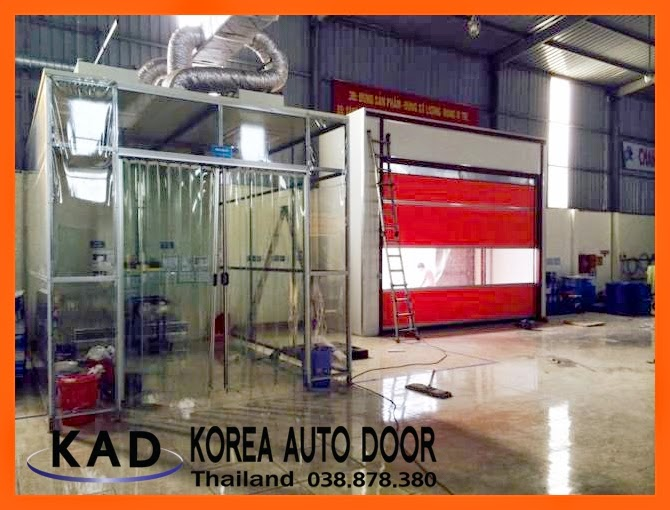 installed high speed door Thailand
