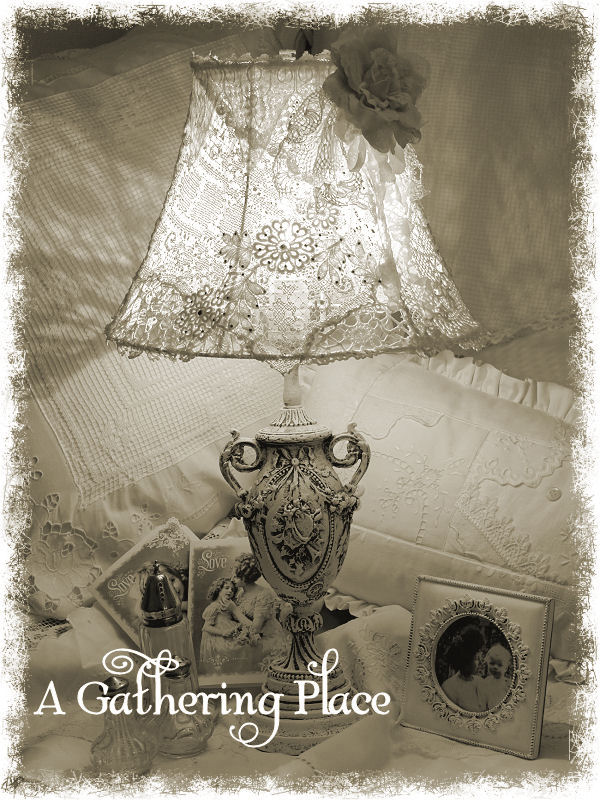 Vintage lace lampshade tutorial for you vintage lace lampshade tutorial for you aloadofball Image collections