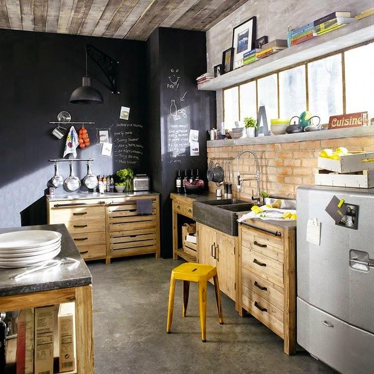 Gabinetes de cocina pintura tiza pintura elhouz - Pintura de cocina ...