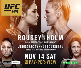 Ronda Rousey vs Holly Holm Live Streaming