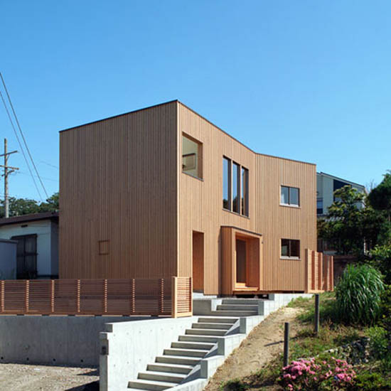 Exclusive Home Design Wooden House Japanese Style Modern