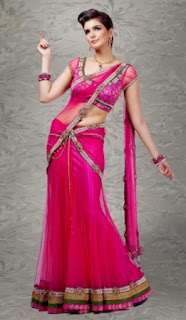 Indian-Designer-Party-Wear-Saree