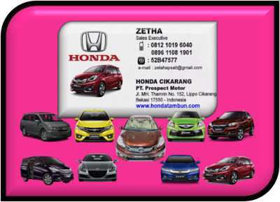 HARGA DAN PROMO HONDA MOBIL JAKARTA 2015