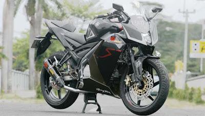 Modifikasi Yamaha Vixion Modif Lebih besar