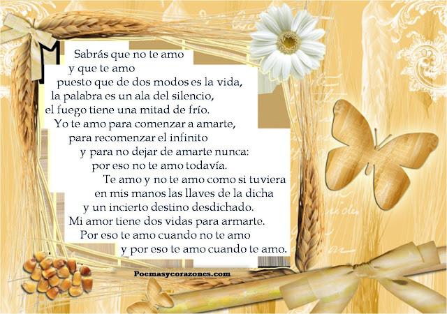 Fotos De Poesias De Amor - Imágenes con frases poemas y versos de amor para