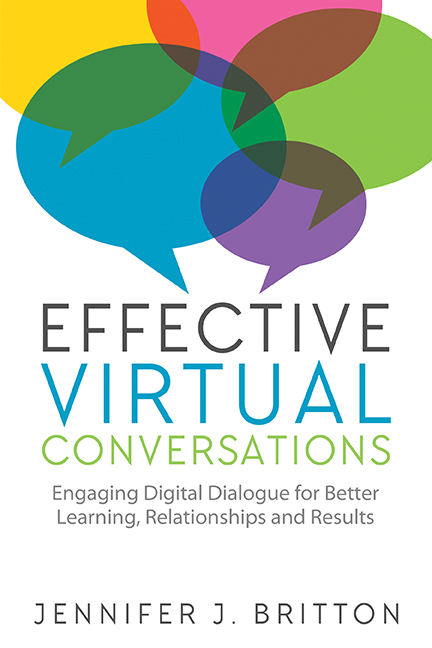 Pick up a copy: Effective Virtual Conversations