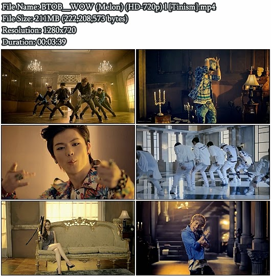 Download MV BTOB - WOW (Melon HD 720p)