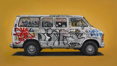 vehicles - artwork - design - graffiti
