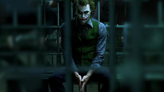 joker behind bars