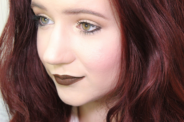 Give Me Glow Etsy Liquid Lipstick Lime Crime Dupe Brown Kylie Jenner Swatch Lips