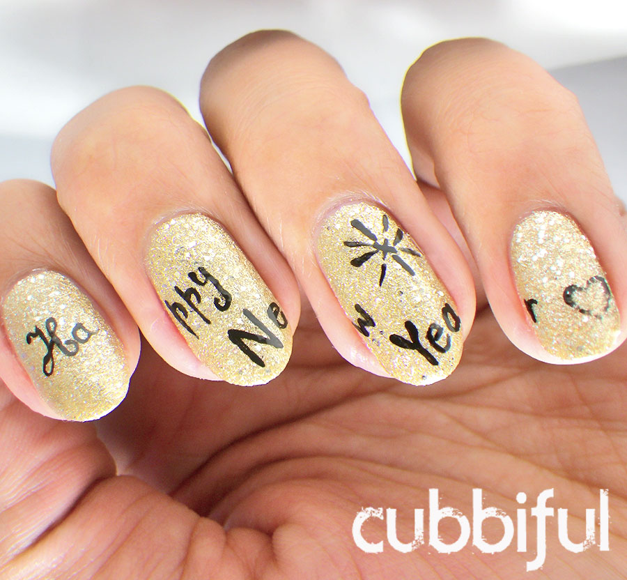 Happy Nails: Cubbiful: New Years