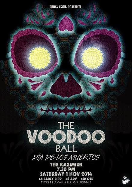 The Voodoo Ball Dia de los Muertos The Kazimier Liverpool