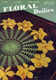Flower Doilies Crochet Book 258 from Coats & Clarks