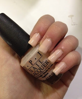 OPI Bubble Bath Nail Polish Review and Swatch