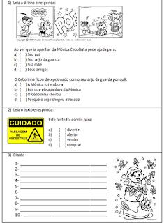 avaliação-de-língua-portuguesa-para-o-4º ano