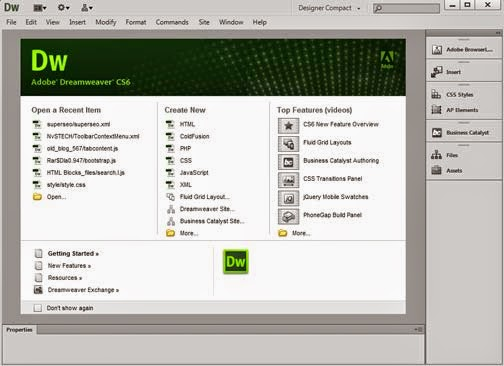 Adobe Dreamweaver CS6 Full Version Crack Free Download Single Link