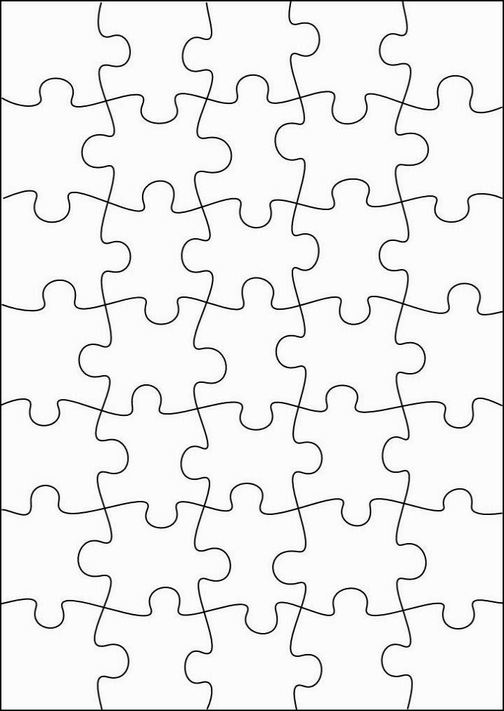 RobbyGurl\'s Creations: DIY Print, Color & Cut Jigsaw Puzzles