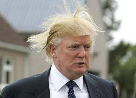 donald trump without toupee. Says Donald Trump after