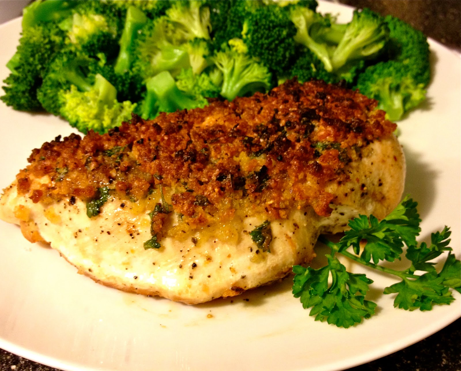 Bon Chappétit: parmesan-crusted chicken