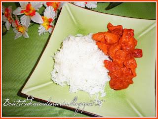 bocconcini di pollo tandoori