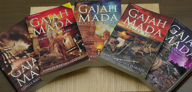 Download Ebook Novel Gajah Mada 1-4 Full by Langit Kresna Hariadi