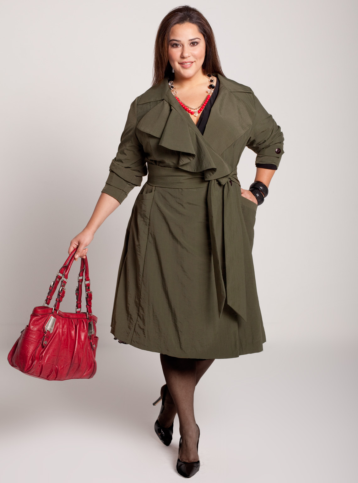Plus size womens winter coats