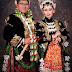 Kebaya muslim pengantin khas Jawa