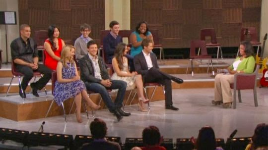 Glee Oprah